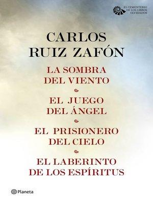 cover image of Carlos Ruiz Zafón