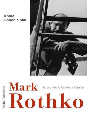cover image of Mark Rothko