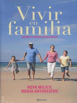 cover image of Vivir en familia