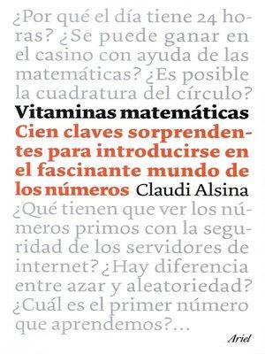 cover image of Vitaminas matemáticas