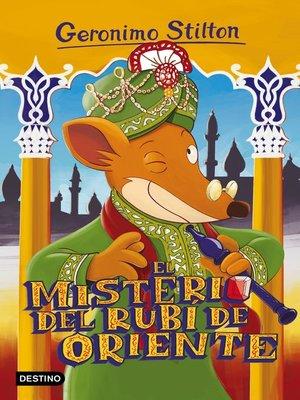 cover image of El misterio del rubí de Oriente