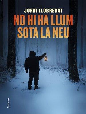 cover image of No hi ha llum sota la neu