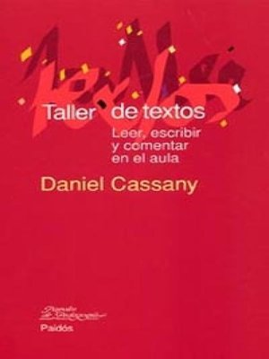 cover image of Taller de textos
