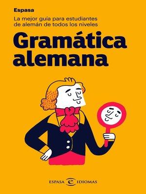 cover image of Gramática alemana