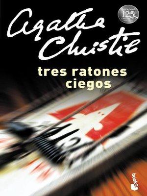 cover image of Tres ratones ciegos