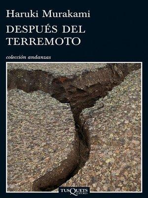 cover image of Después del terremoto