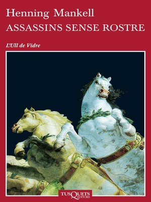 cover image of Assassins sense rostre