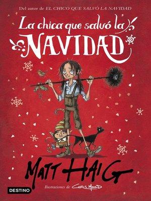 cover image of La chica que salvó la Navidad