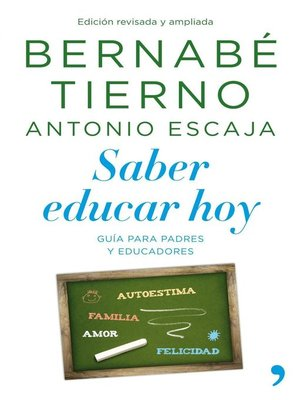 cover image of Saber educar hoy