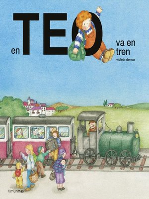 cover image of En Teo va en tren