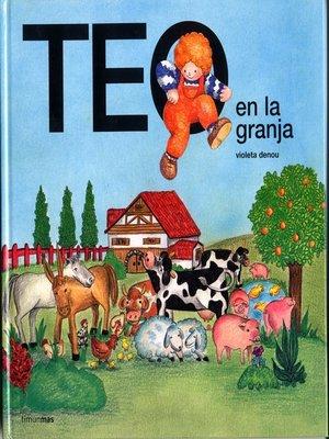 cover image of Teo en la granja (Edición de 1978)