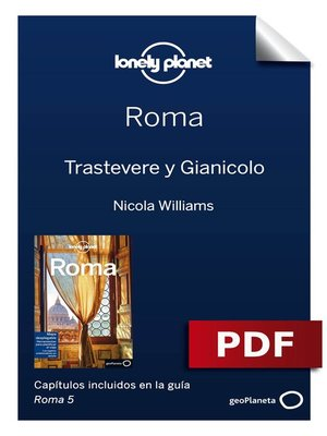 cover image of Roma 5. Trastevere y Gianicolo