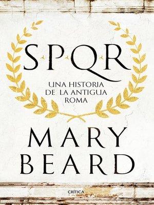 cover image of SPQR