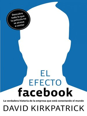 cover image of El efecto Facebook