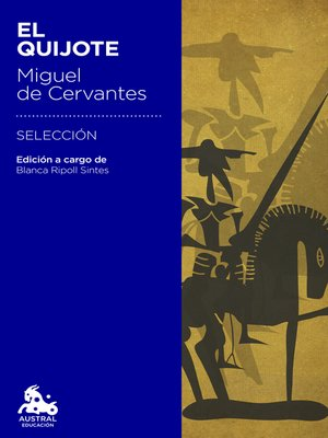 cover image of El Quijote