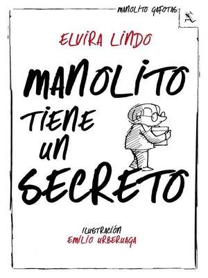 cover image of Manolito tiene un secreto