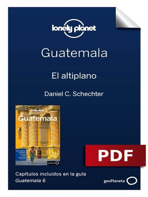 cover image of Guatemala 6. El altiplano
