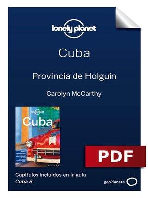 cover image of Cuba 8_13. Provincia de Holguín