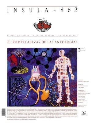 cover image of El rompecabezas de las antologías (Ínsula n° 863, noviembre de 2018)