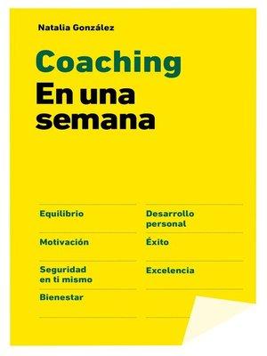 cover image of Coaching en una semana