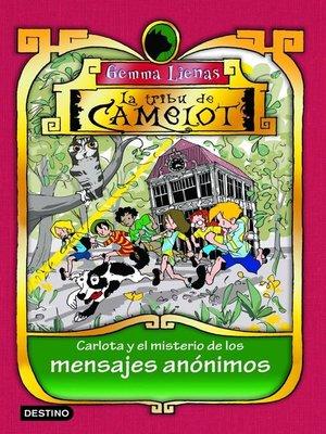 cover image of Carlota y el misterio de los mensajes anónimos