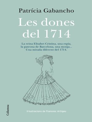 cover image of Les dones del 1714