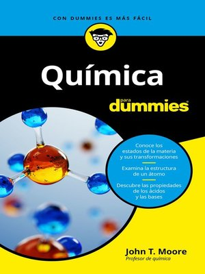 cover image of Química para Dummies