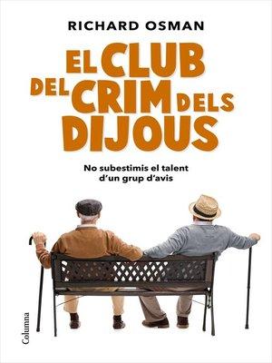 cover image of El Club del Crim dels Dijous