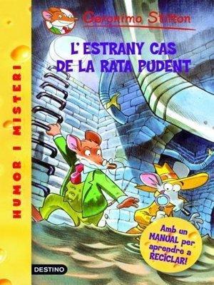 cover image of L'estrany cas de la rata pudent