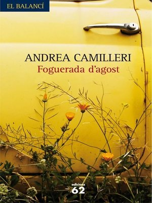 cover image of Foguerada d'agost