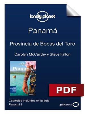 cover image of Panamá 1_8. Provincia de Bocas del Toro