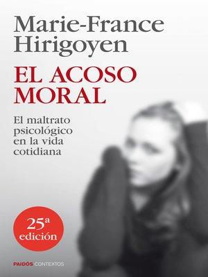 cover image of El acoso moral