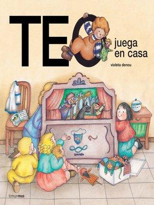 cover image of Teo juega en casa