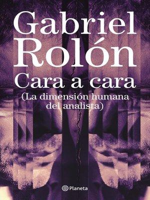 cover image of Cara  a cara