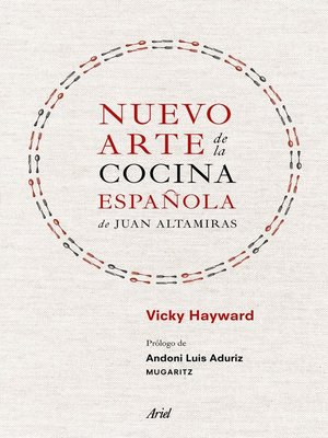 cover image of Nuevo arte de la cocina española, de Juan Altamiras