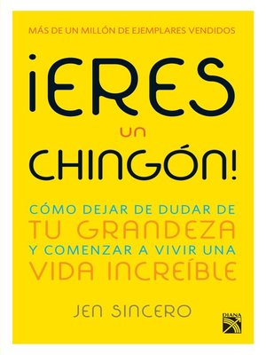 cover image of ¡Eres un chingón!