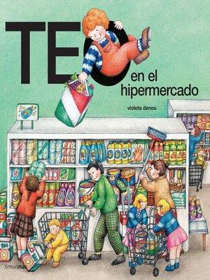 cover image of Teo en el hipermercado