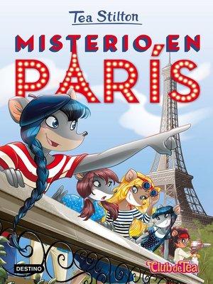 cover image of Misterio en París