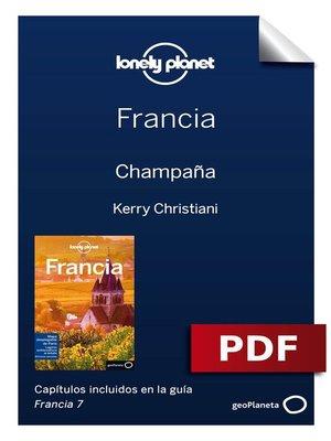 cover image of Francia 7. Champaña