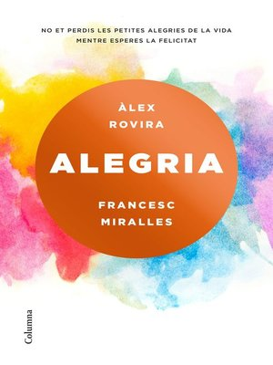 cover image of Alegria