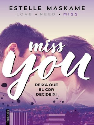 cover image of Miss you (Edició en català)