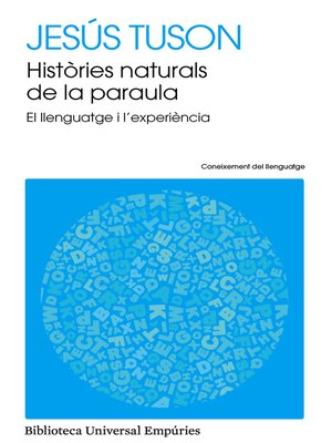 cover image of Històries naturals de la paraula