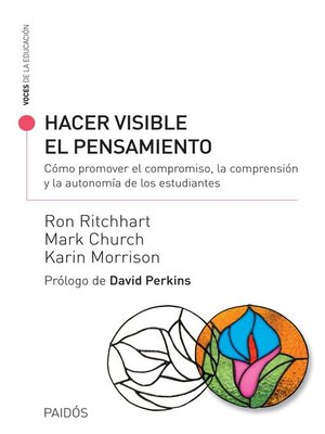 cover image of Hacer visible el pensamiento