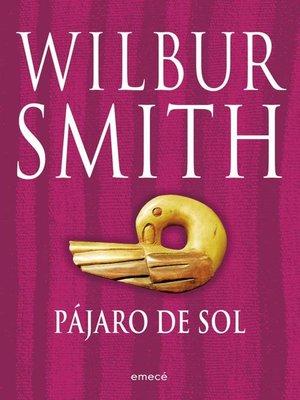 cover image of Pájaro de sol