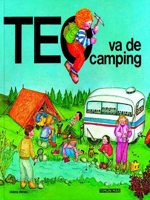 cover image of Teo va de camping