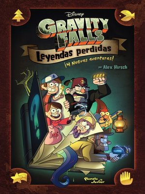 cover image of Gravity Falls. Leyendas perdidas