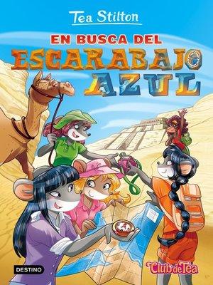 cover image of En busca del escarabajo azul