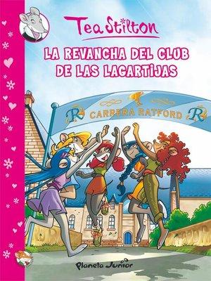 cover image of La revancha del Club de las Lagartijas