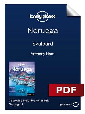 cover image of Noruega 3_10. Svalbard