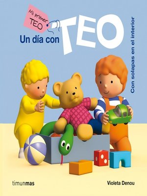 cover image of Un día con Teo (ebook interactivo)